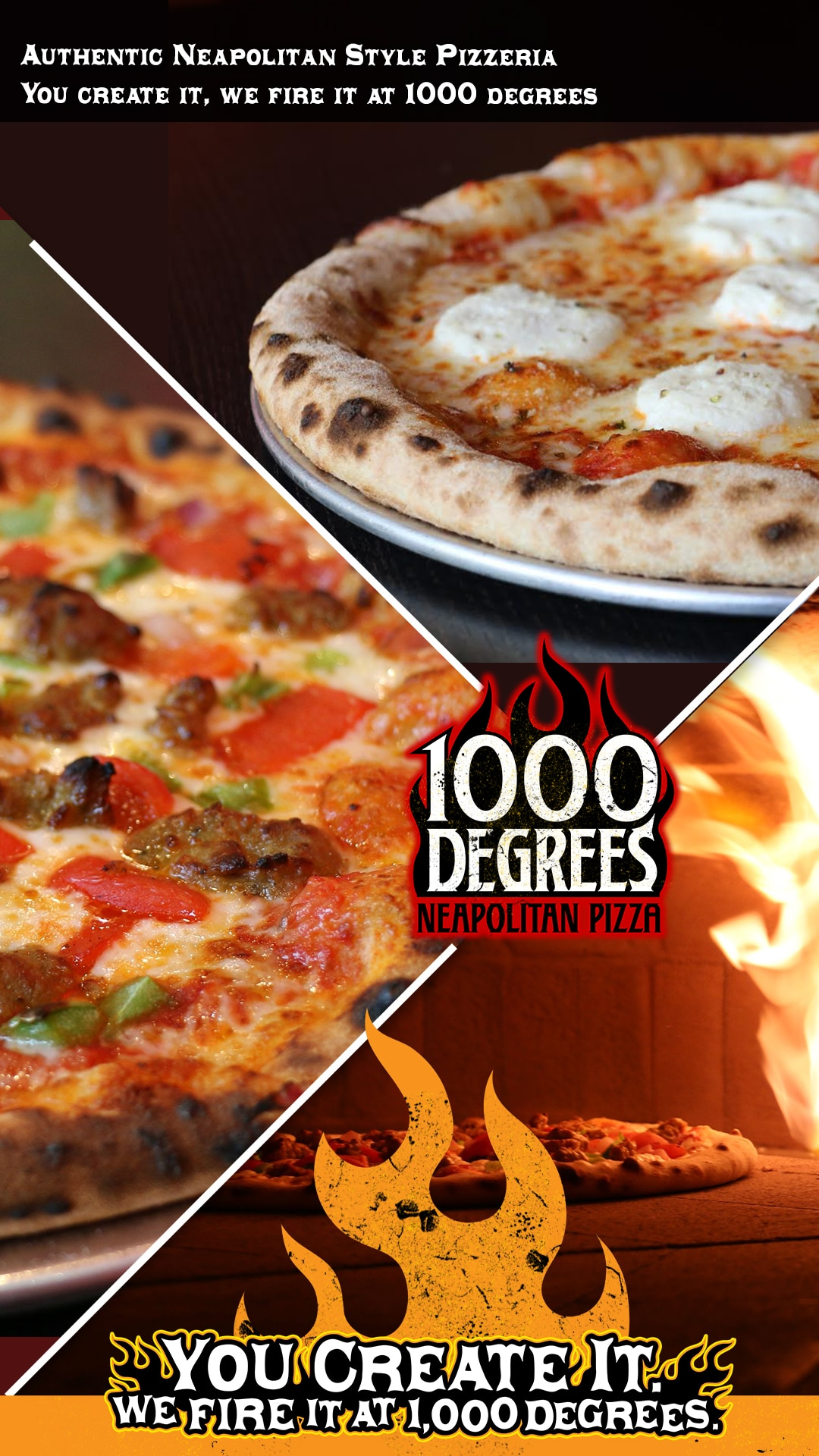 1000 degrees neapolitan pizzeria franchises fast casual pizza